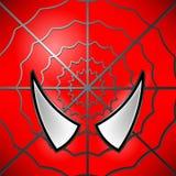 Icona del supereroe mascherina Immagine Stock