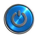 Icona del tasto di potenza illustrazione di stock