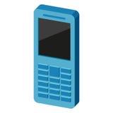 Icona del telefono Illustrazione di vettore Immagini Stock