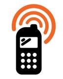 Icona del telefono mobile Fotografia Stock Libera da Diritti