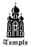 Icona del tempio illustrazione di stock