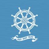 Icona del timone della nave royalty illustrazione gratis