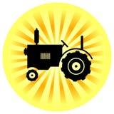 Icona del trattore Immagini Stock