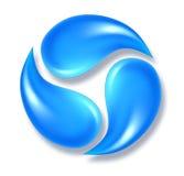 Icona dell'acqua Immagini Stock Libere da Diritti