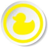 Icona dell'anatra Fotografia Stock Libera da Diritti