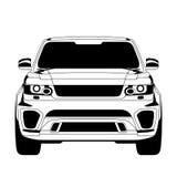 Icona dell'automobile Immagine Stock