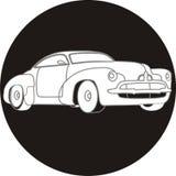 Icona dell'automobile Fotografia Stock