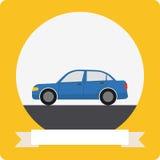 Icona dell'automobile di vettore Immagine Stock