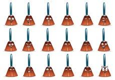 Icona dell'avatar della scopa messa sopra Fotografia Stock