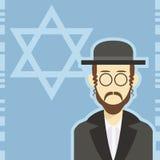 Icona 1 dell'ebreo illustrazione vettoriale