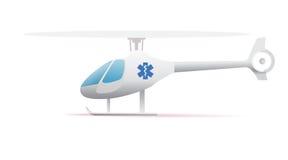 Icona dell'elicottero di emergenza illustrazione vettoriale