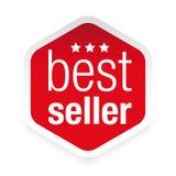 Icona dell'etichetta del best-seller Fotografie Stock Libere da Diritti