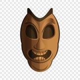 Icona dell'idolo della maschera, stile del fumetto royalty illustrazione gratis