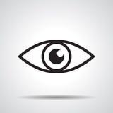 Icona dell'occhio Immagine Stock