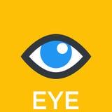 Icona dell'occhio, segno Immagini Stock Libere da Diritti