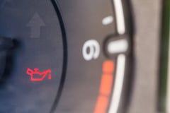 Icona dell'olio dell'automobile Immagini Stock