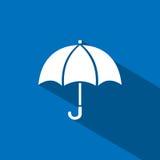 Icona dell'ombrello Fotografia Stock Libera da Diritti