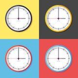 Icona dell'orologio Fotografie Stock Libere da Diritti