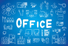 Icona dell'ufficio illustrazione vettoriale