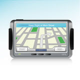 Icona dell'unità di GPS Immagine Stock