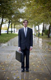 Icona dell'uomo d'affari Fotografia Stock