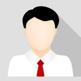 Icona dell'uomo di affari Immagini Stock Libere da Diritti