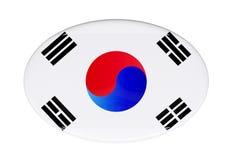 Icona della bandiera Fotografia Stock