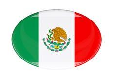 Icona della bandiera Immagini Stock