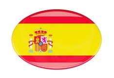Icona della bandiera Immagine Stock Libera da Diritti