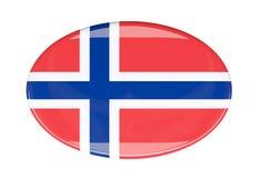 Icona della bandiera Fotografie Stock Libere da Diritti
