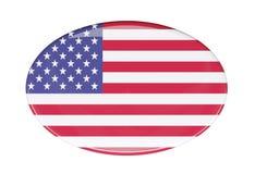 Icona della bandiera Immagini Stock Libere da Diritti