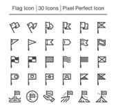 Icona della bandiera illustrazione vettoriale