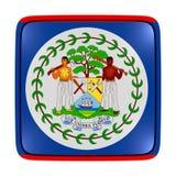Icona della bandiera di Belize Immagine Stock