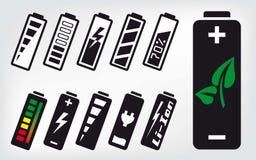 Icona della batteria Immagine Stock Libera da Diritti