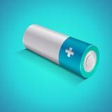 Icona della batteria, concetto grafico Fotografia Stock