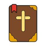 Icona della bibbia royalty illustrazione gratis