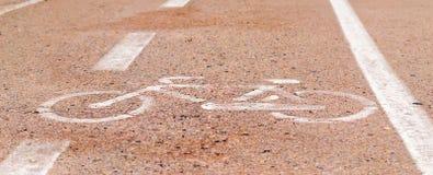 Icona della bici Fotografia Stock