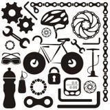 Icona della bici Fotografia Stock Libera da Diritti