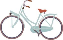 icona della bici della bicicletta olandese senza fondo royalty illustrazione gratis