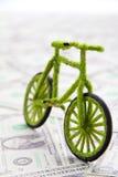 Icona della bicicletta di Eco Fotografia Stock