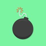 Icona della bomba Fotografia Stock