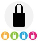 Icona della borsa Immagine Stock Libera da Diritti