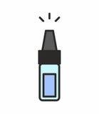 Icona della bottiglia Fotografia Stock Libera da Diritti