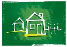Icona della Camera, illustrazione di disegno a mano libera Fotografia Stock