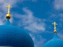 Icona della cattedrale di Bogolyubovo della nostra signora immagini stock libere da diritti