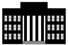 icona della costruzione Fotografie Stock Libere da Diritti