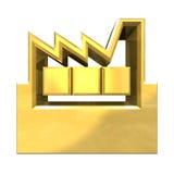 Icona della costruzione del fornitore Immagini Stock