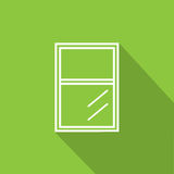 Icona della finestra Fotografia Stock Libera da Diritti