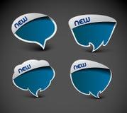 Icona della finestra del messaggero Fotografia Stock