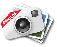 Icona della foto Fotografia Stock